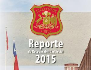 Reporte de Responsabilidad Social 2015 / http://www.ejercito.cl/publicaciones